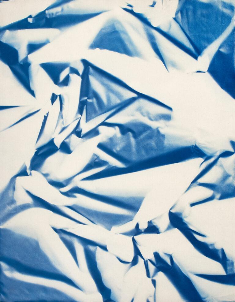 Cyanotype On Canvas140x180